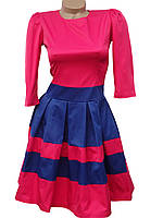 Молодежное яркое платье (в расцветках 40-44), фото 1