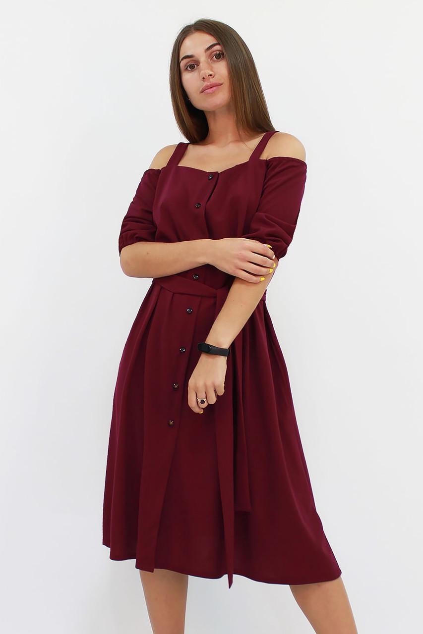 Зручне повсякденне плаття Francheska, марсала