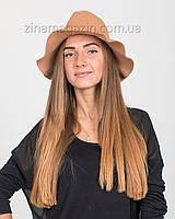 Шляпа ковбока бежевая