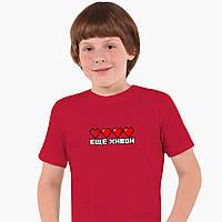 Детская футболка для мальчиков Майнкрафт (Minecraft) (25186-1172) Красный, фото 1