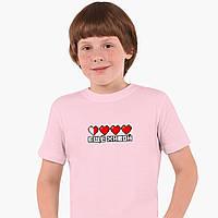 Детская футболка для мальчиков Майнкрафт (Minecraft) (25186-1172) Розовый, фото 1