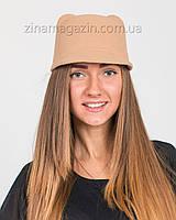 Шляпка с ушками бежевая