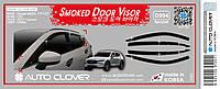 Дефлекторы окон (ветровики) 6шт. Mazda CX 5 2017- (Autoclover D994), фото 1