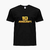 Детская футболка для мальчиков Майнкрафт (Minecraft) (25186-1171) Черный, фото 1