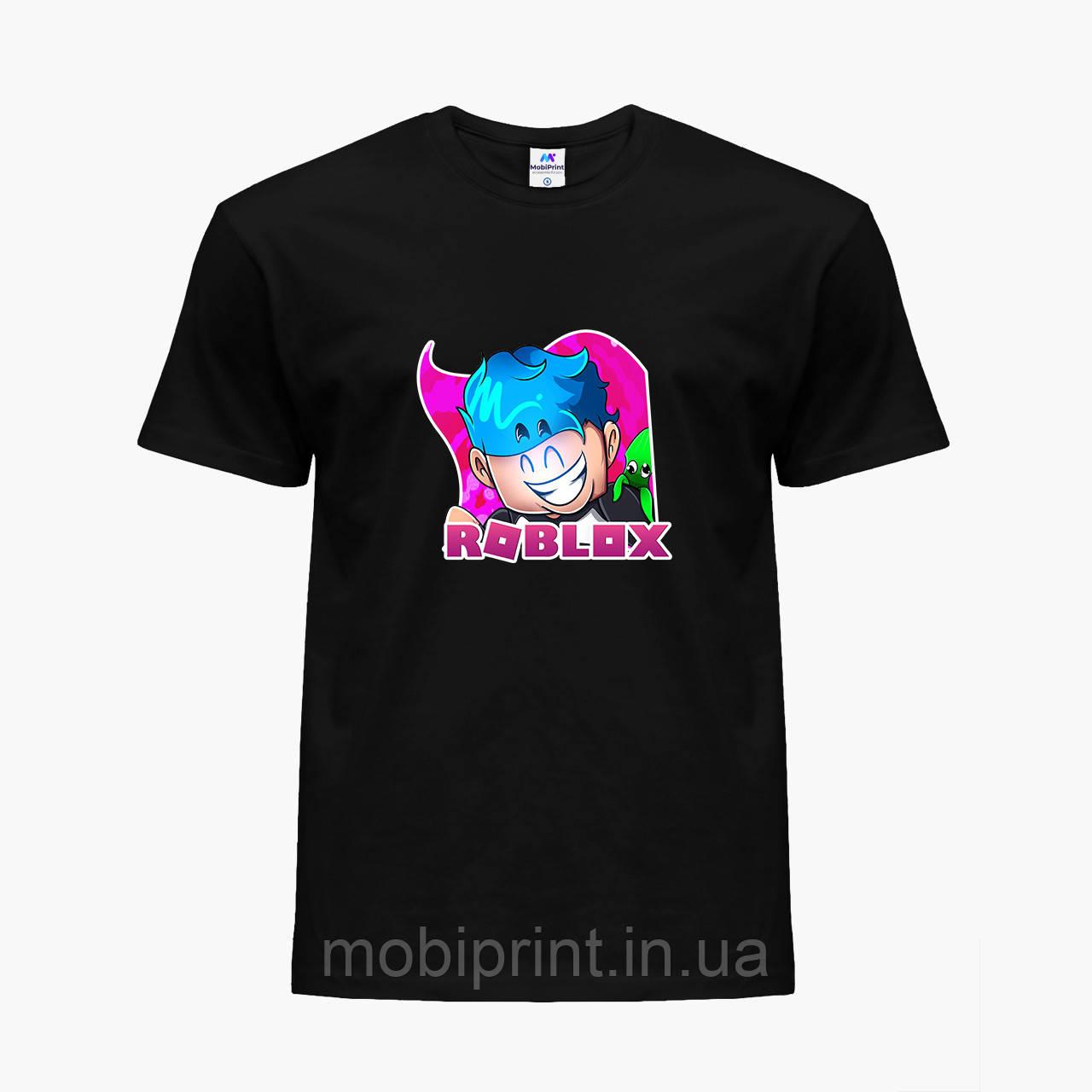 Детская футболка для мальчиков Роблокс (Roblox) (25186-1223) Черный