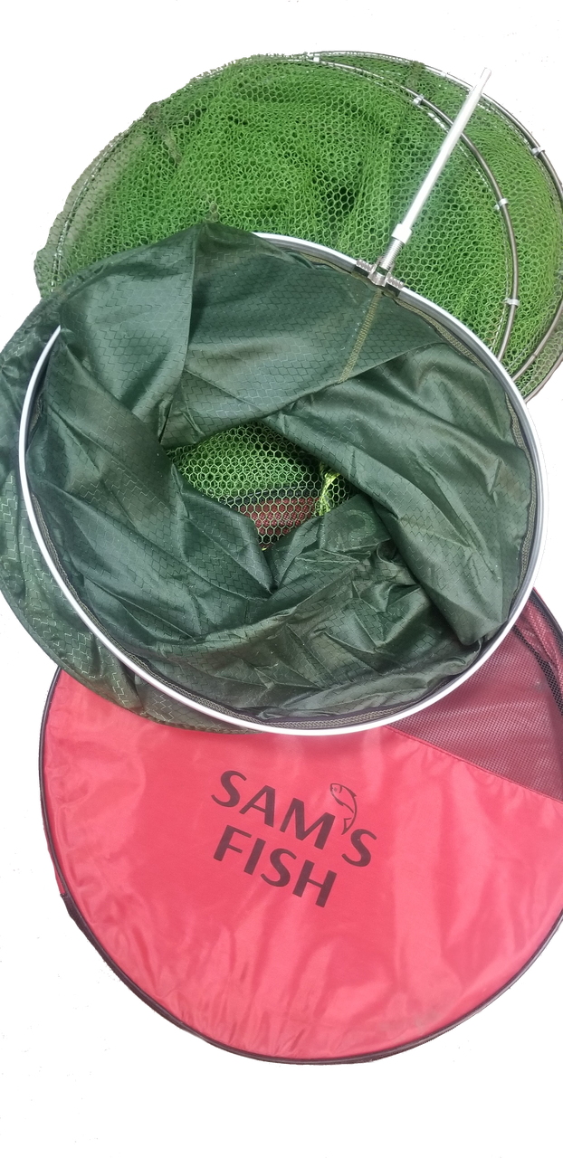 Садок прогумований Sams Fish (наружые кільця) 250см