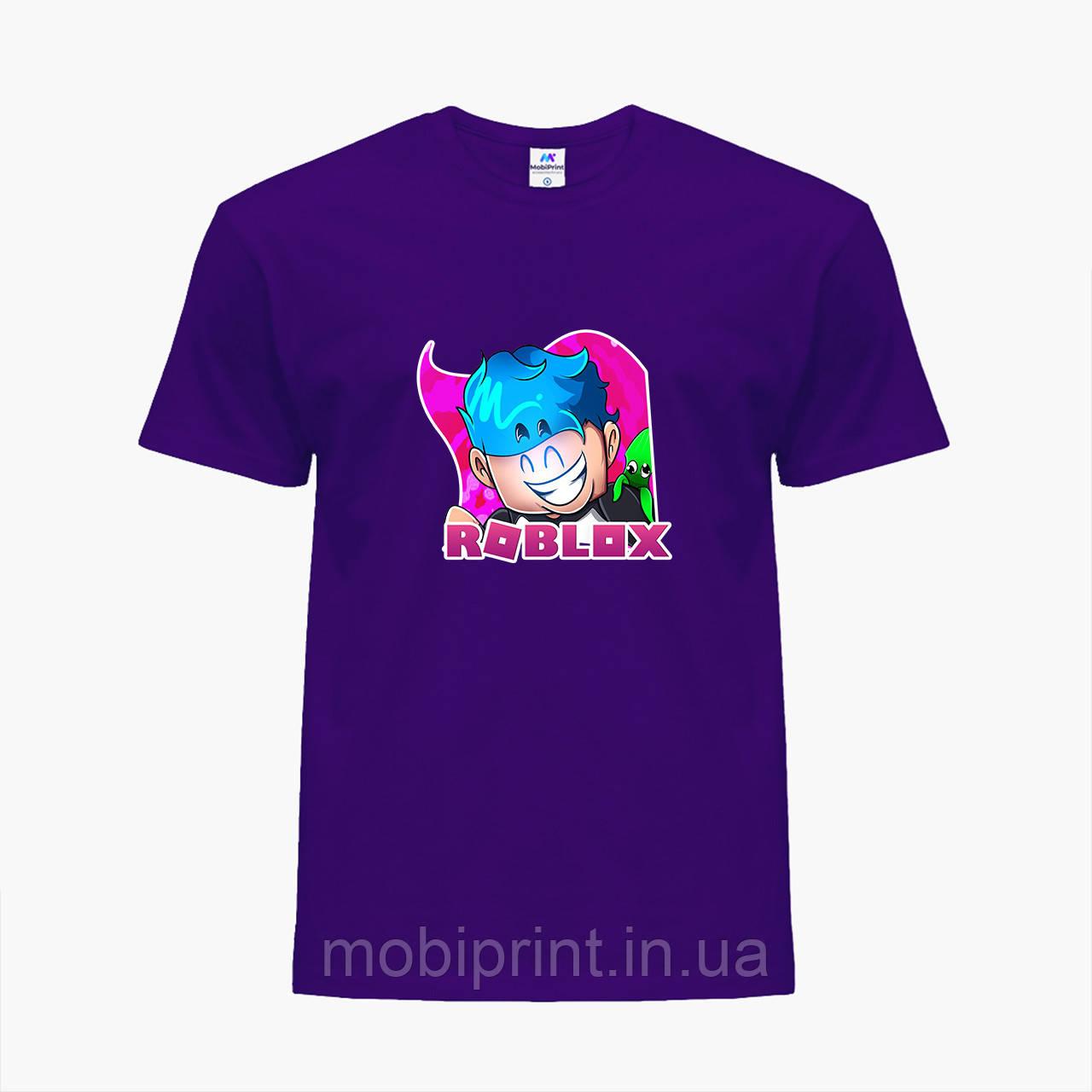 Детская футболка для мальчиков Роблокс (Roblox) (25186-1223) Фиолетовый