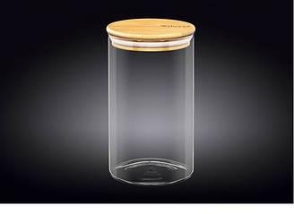 Емкость для хранения Wilmax стеклянная 1,1 л WL-888505 / A