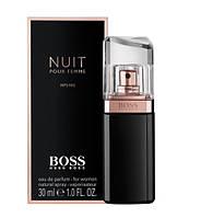 Новый флагман Парфюмированная вода (лицензия) Эмираты Hugo Boss Boss Nuit Femme цветочные, сандаловое дерево,  дубовый мох