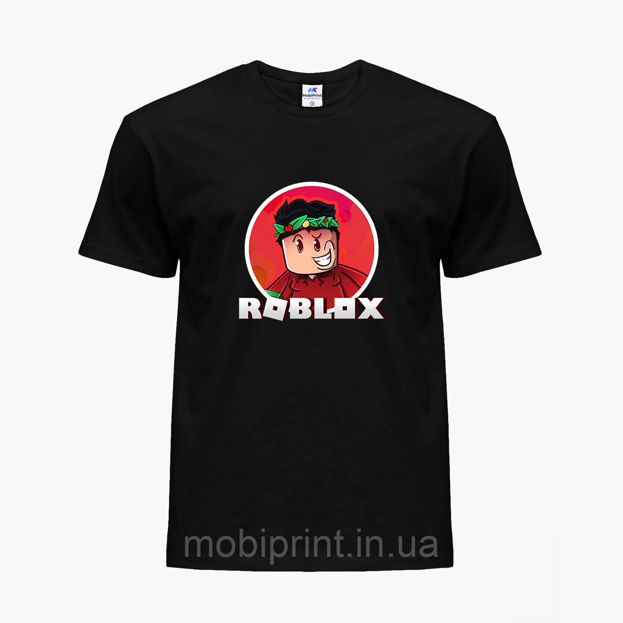 Детская футболка для мальчиков Роблокс (Roblox) (25186-1225) Черный