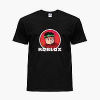 Детская футболка для мальчиков Роблокс (Roblox) (25186-1225) Черный, фото 1