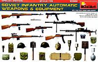 Пехотное автоматическое оружие и снаряжение