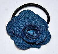 Роза на тонкой резинке для волос (12 шт)