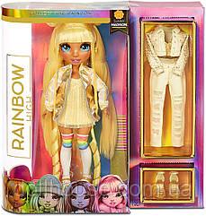 Мосту Хай Санні Rainbow High Sunny Madison Yellow Fashion Doll (з аксесуарами) 569626