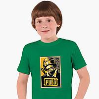 Детская футболка для мальчиков Пубг Пабг (Pubg) (25186-1179) Зеленый, фото 1