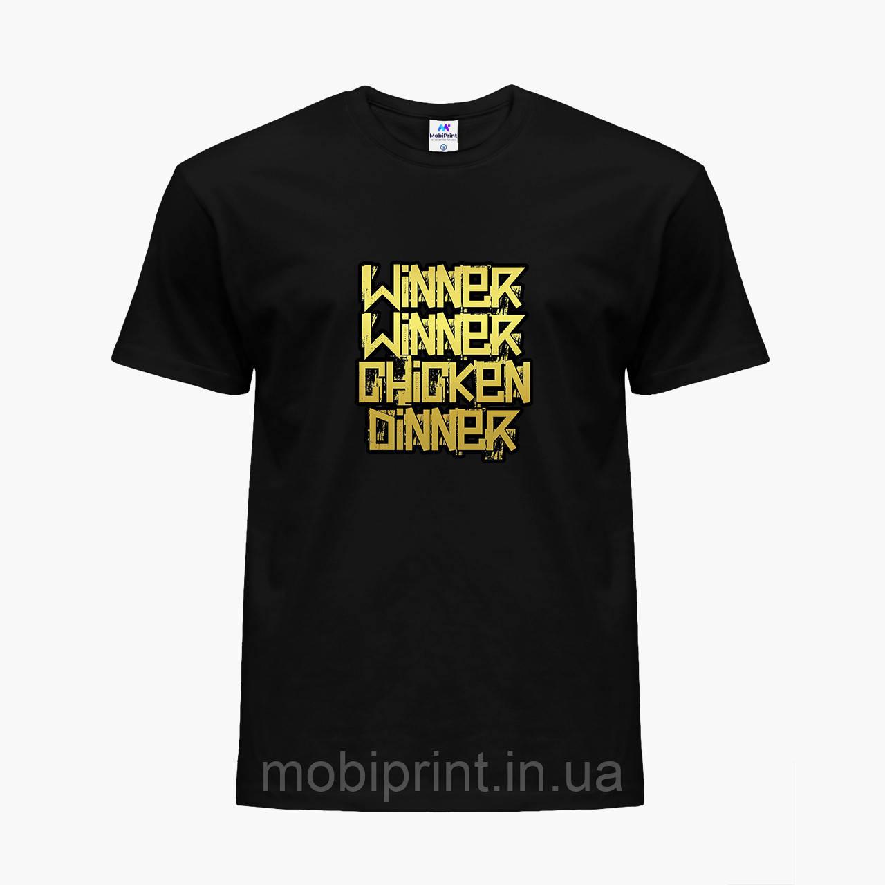 Детская футболка для мальчиков Пубг Пабг (Pubg) (25186-1180) Черный