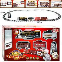 Железная дорога 3054 паровоз на радиоуправлении с световыми и звуковыми эффектами, фото 1