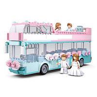 Конструктор Sluban M38-B0769 Весілля, автобус, посуд, фігурки, 379 деталей, фото 1