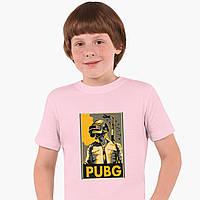 Детская футболка для мальчиков Пубг Пабг (Pubg) (25186-1181) Розовый, фото 1