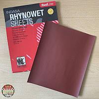 Лист абразивный водостойкий Indasa Rhynowet Redline, 280 мм x 230 мм (P360-P1200)