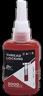 Герметик резьбовых соединений AXXIS Thread Locker Red VSB-027 высокотемпературный сильной фиксации 50мл.