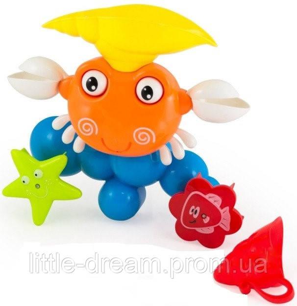 """Игрушка для ванной """"Краб"""" 9903"""