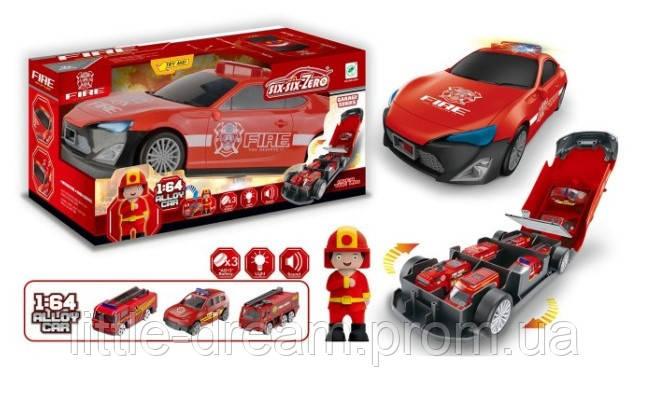 Машинка пожарная 660-A207