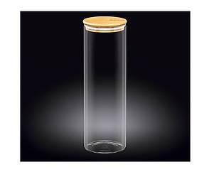 Емкость стеклянная для хранения Wilmax 2 л WL-888510 / A