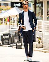 Чоловічий шерстяний костюм двійка в англійському стилі стандарт і великий розмір є! Розмір 42-74+ батал, фото 1