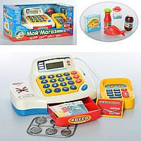 Детский игровой музыкальный Магазин кассовый аппарат 7020 на батарейках