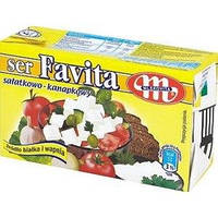 Сир-крем Фета Favita Mlekovita 12% жирн.270г Польща, фото 1