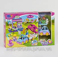 """Детский игровой Конструктор Jun Da Long Toys 3806 """"Вилла"""" (52 детали) аналог конструктора Lego"""
