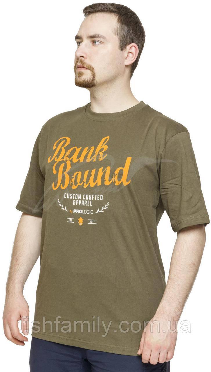 Футболка Prologic Bank Bound Retro ц:green