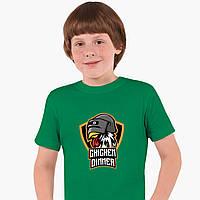 Детская футболка для мальчиков Пубг (Pubg) (25186-1186) Зеленый, фото 1