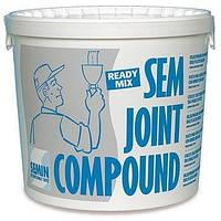 Готовая полимерная шпаклевка-финишпаста Semin SEM JOINT 25 кг