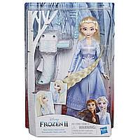 Принцесса Эльза c аксессуарами для волос, Холодное сердце 2, Elsa Sister Styles Frozen 2, Hasbro E7002