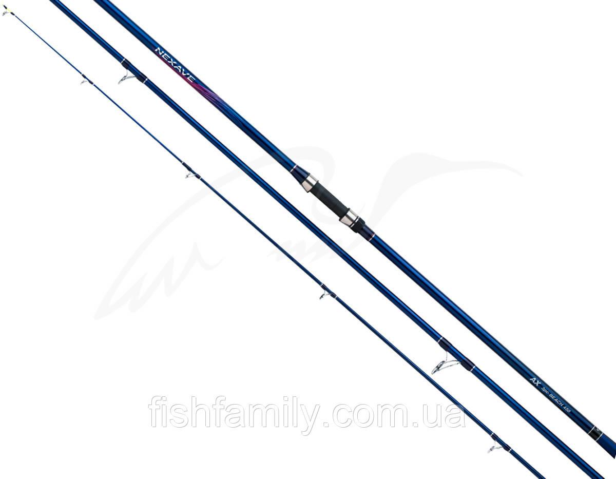 Удилище серфовое Shimano Nexave Surf 3 Pcs BX Tubular Tip 4.50m max 225g