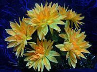 Искусственные цветы, букет астра крупная (10 шт в уп)