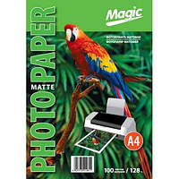 Фотобумага Мagic A4 матовая 128g, 100л