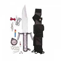 Нож Rothco Ramster Survival Kit Knife