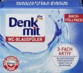 Таблетки для дезинфекции воды и мытья унитазов и бачков  Denkmit Blauspuler  2 х 40 гр.