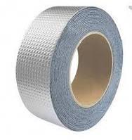 Сверх прочная липкая лента с алюминиевым (BUTYL SELF-ADHESIVE) Шир. 5 см Толщ. 1.2 mm Длина 10m, фото 1