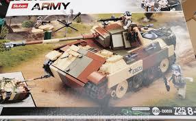 Конструктор 0859 Танк или Самоходка 725 дет