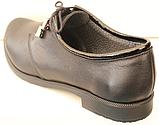 Туфли черные кожаные женские от производителя модель КС26К, фото 4