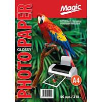 Фотобумага Мagic A4 глянцевая 210g, 50л