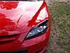Реснички Mazda 3 Hatchback, накладки на фары Мазда 3 Хетчбек