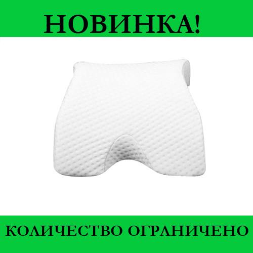 Ортопедическая Подушка Тунель Memory Foam Pillow- Новинка