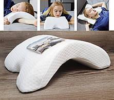 Ортопедическая Подушка Тунель Memory Foam Pillow- Новинка, фото 2