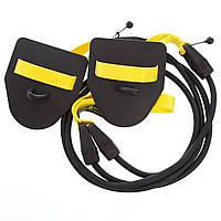 Тренувальна система з лопатками для тренування гребка MadWave TRAINER DRY M077103200W (PL, гума, пластик, опір