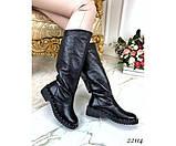 Зимние сапоги кожаные, фото 2